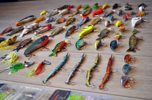 A selection of lures