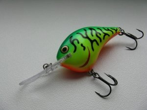 A perfect lure for learning how to fish a crankbait