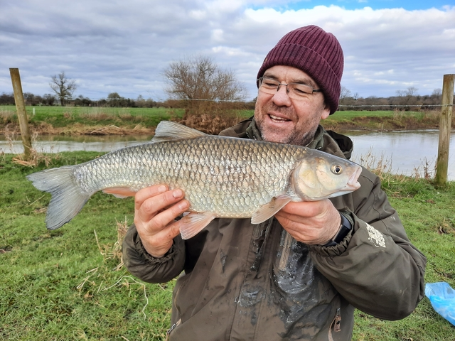 A good fish caught whilst chubbing in summer
