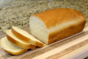 A loaf of bread for fishing